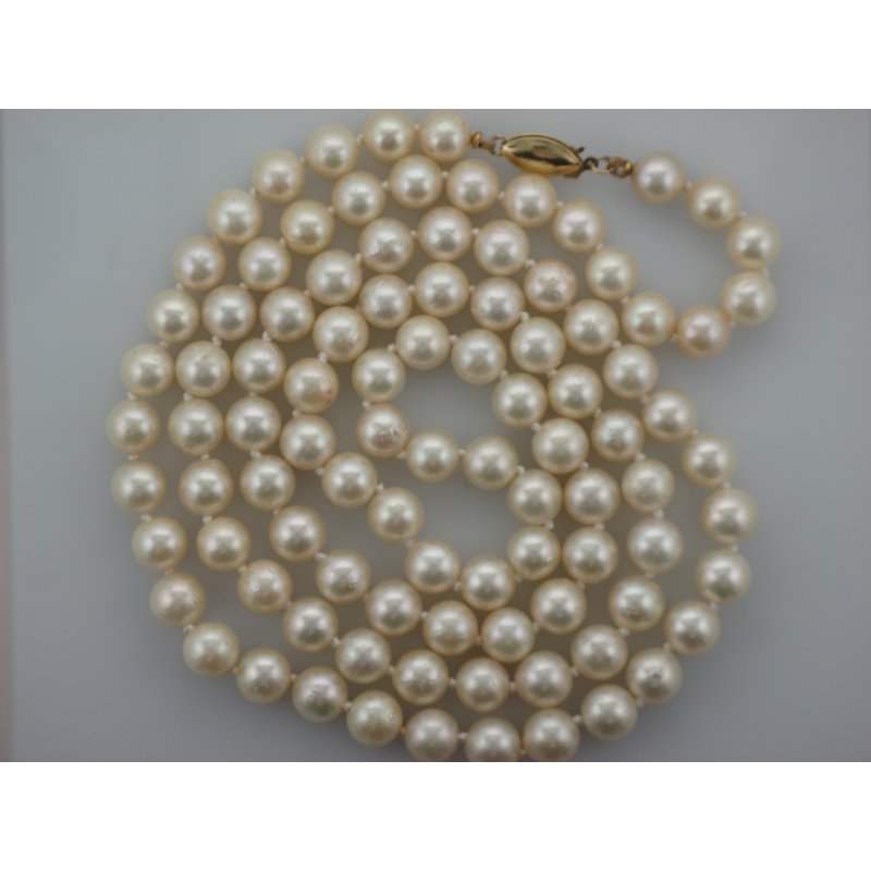 Antique, Estate & Consignment Knotted Pearl Strand