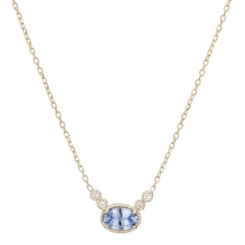 Ceylon Sapphire Dew Necklace