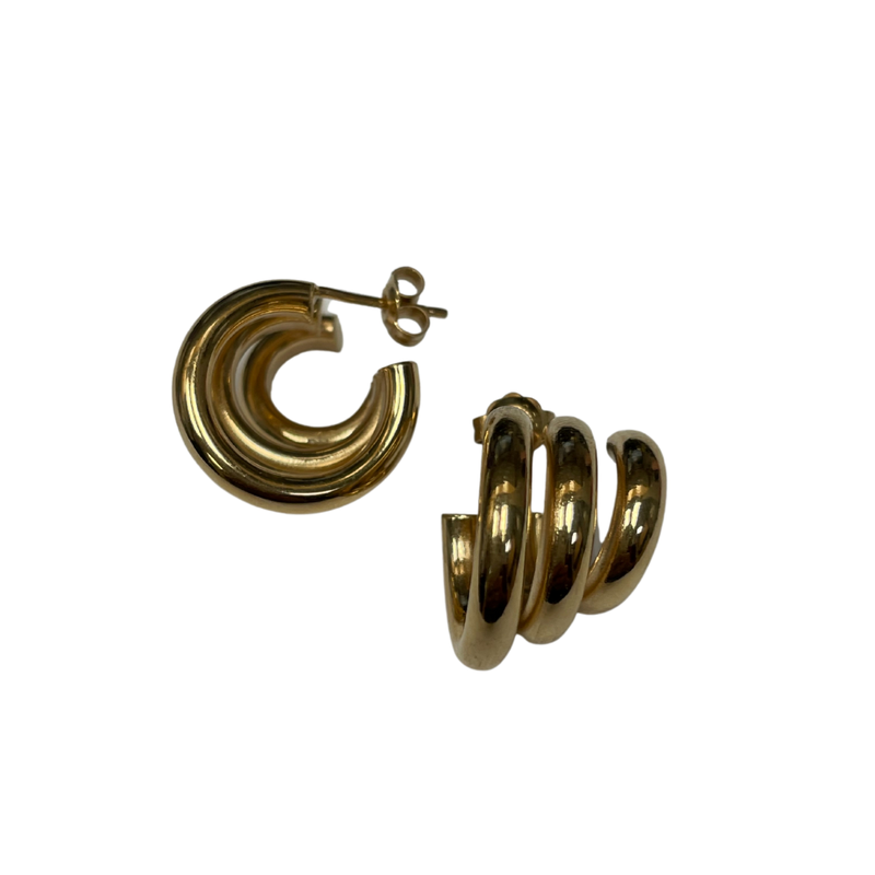 Antique, Estate & Consignment Triple Hoop Ear Climber