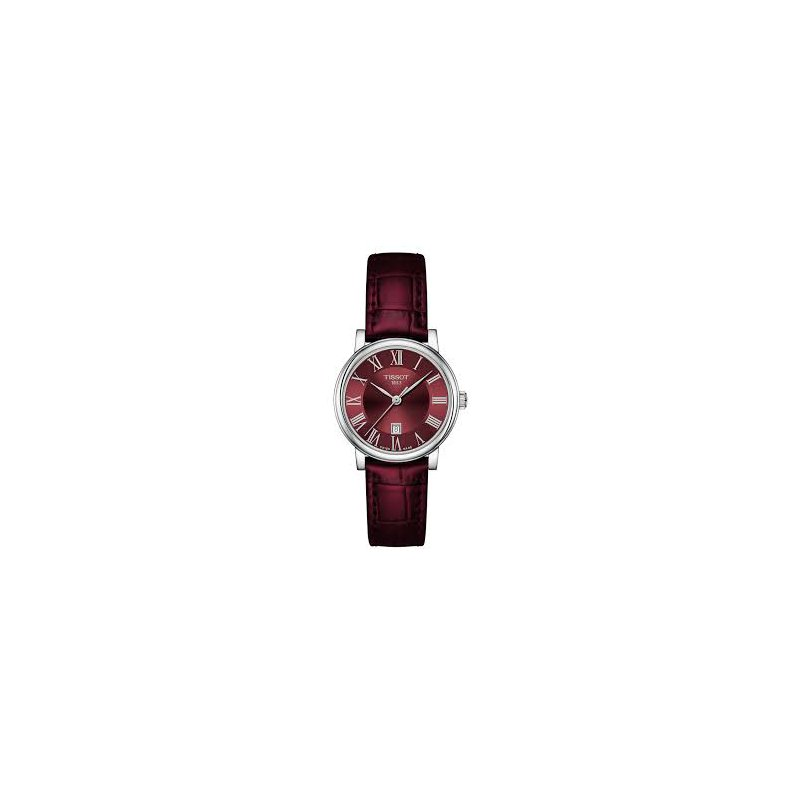 Tissot Burgundy Carson Watch