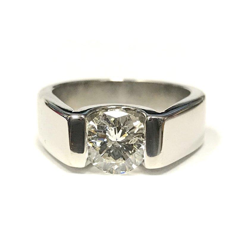 Antique, Estate & Consignment 1.32 Carat Diamond Engagement Ring
