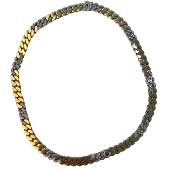 Diamond Curb Link Chain