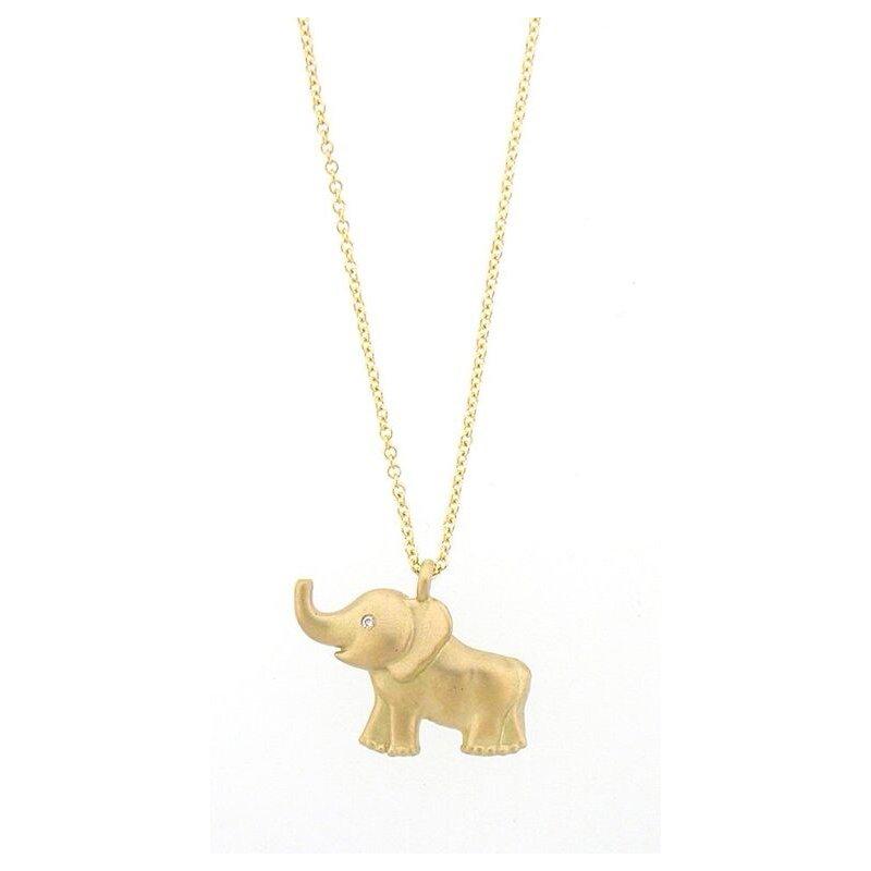 Tate Jewels Eleonor Elephant Necklace