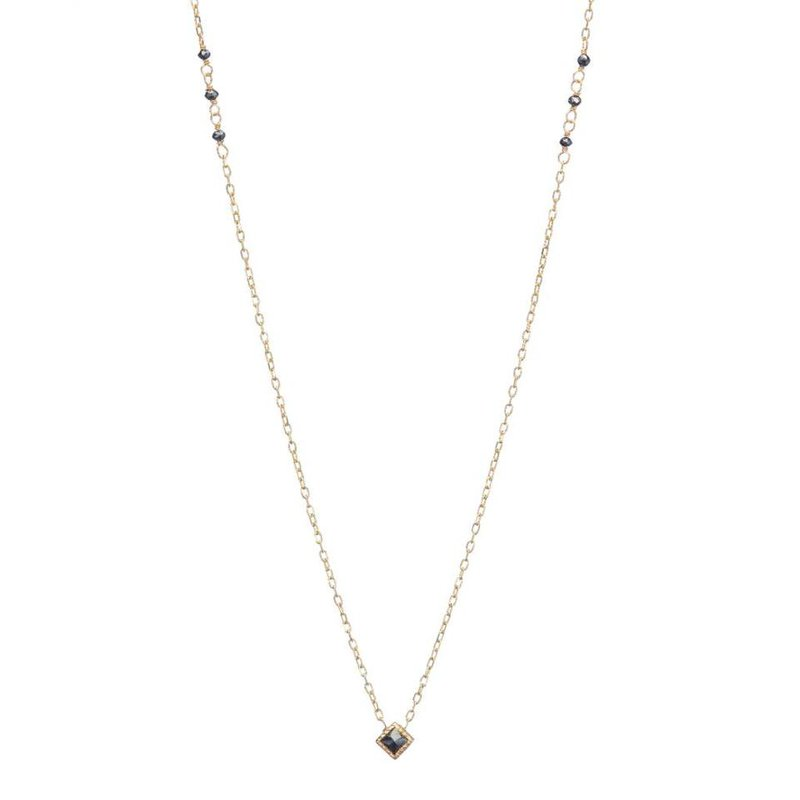 Jennie Kwon Black Diamond PC Necklace