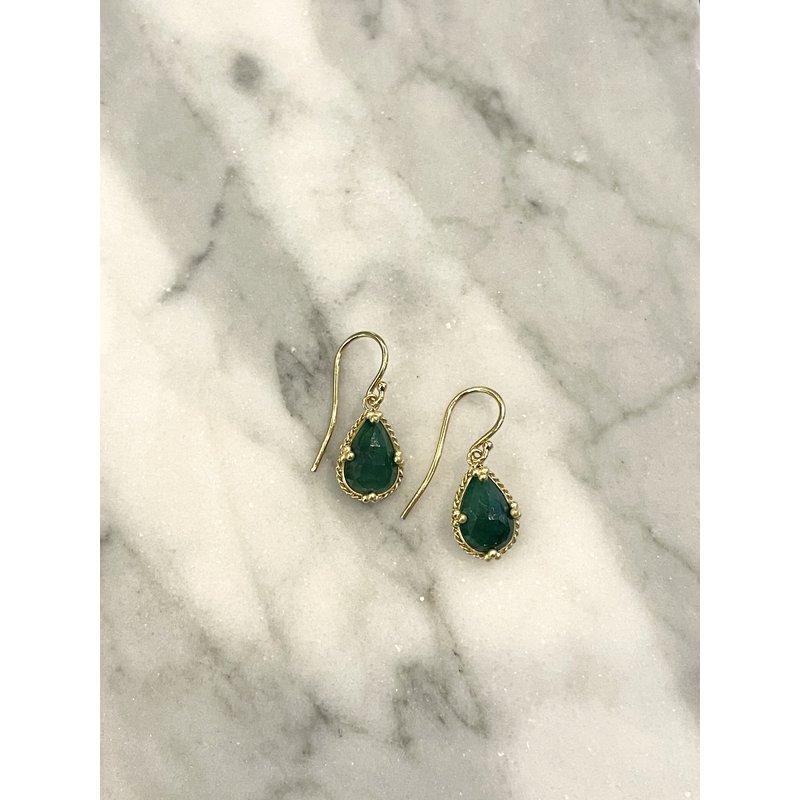 Amali Emerald Earrings