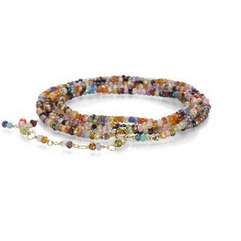 Pre-Owned Anne Sportun Cubic Zirconia Wrap Bracelet