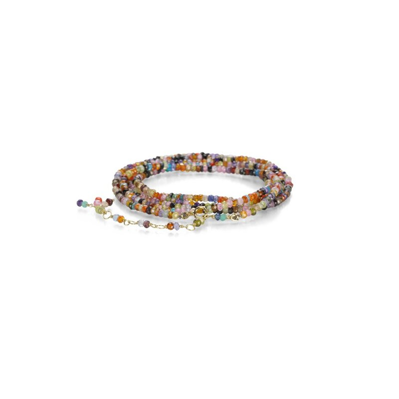 Antique, Estate & Consignment Pre-Owned Anne Sportun Cubic Zirconia Wrap Bracelet