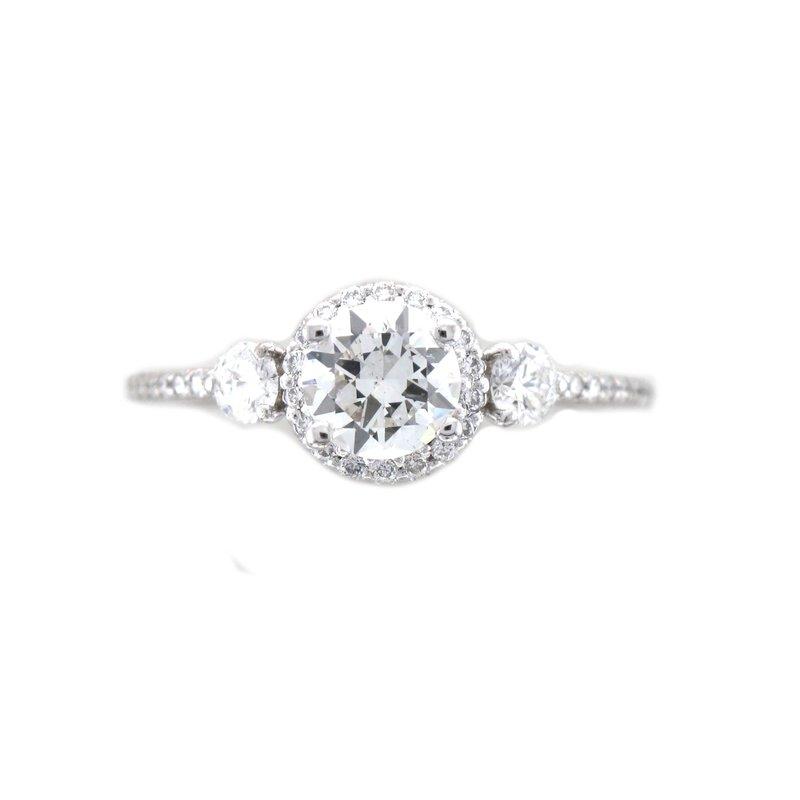 Antique, Estate & Consignment Three Stone Diamond Engagement Ring
