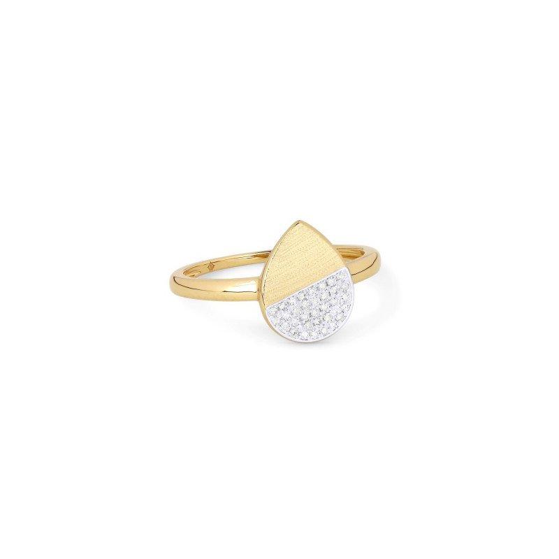 Madison L Pear Shape Pave Diamond Ring