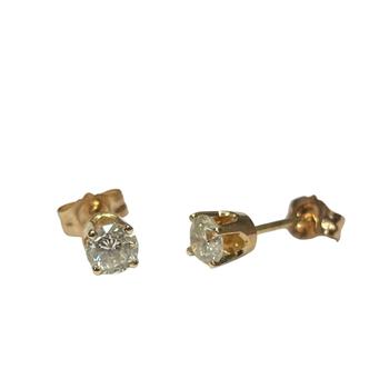 0.40 Carat Diamond Studs