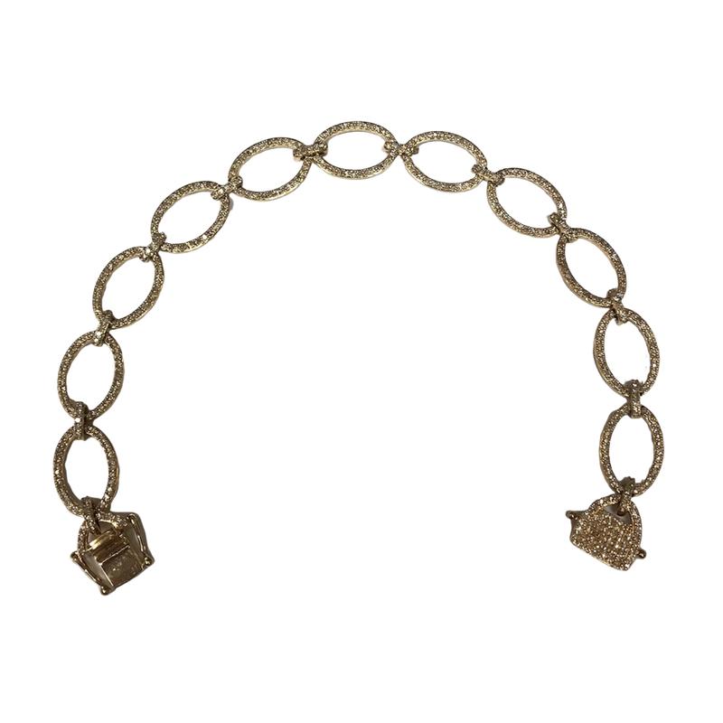 Getana Diamond Link Bracelet