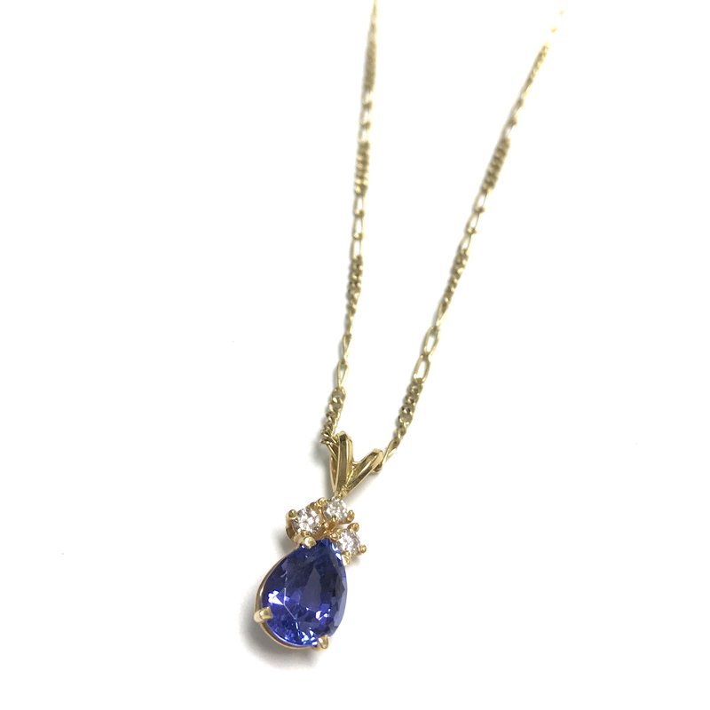 Antique, Estate & Consignment Tanzanite & Diamond Necklace