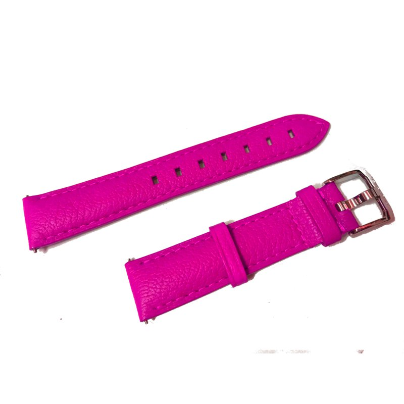 TAG Heuer Pink Leather Formula One Strap
