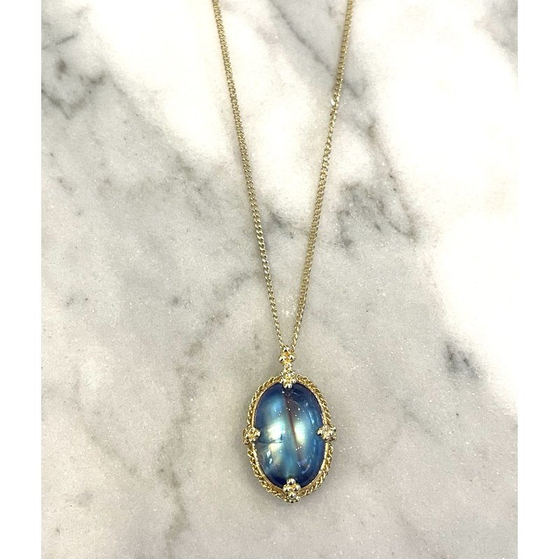 Amali One of a Kind Moonstone Necklace