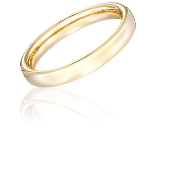 14k Yellow Gold 3mm Band