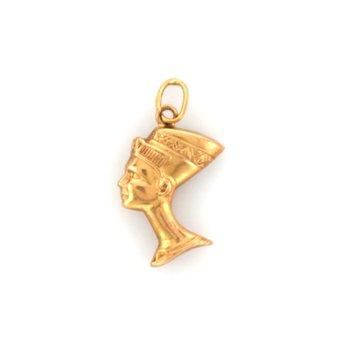 Gold Neferiti Pendant