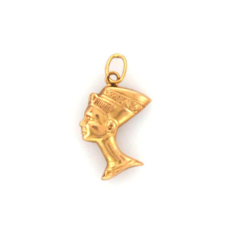 Antique, Estate & Consignment Gold Neferiti Pendant
