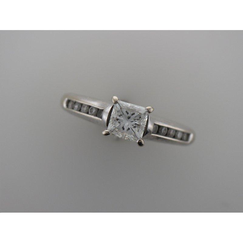 Antique, Estate & Consignment Princess Cut Diamond Engagement Ring