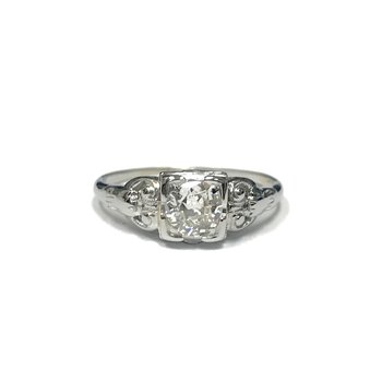 Vintage Old European Cut Diamond Ring