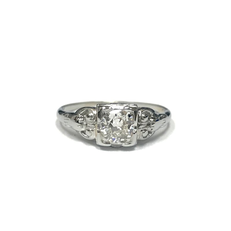 Antique, Estate & Consignment Vintage Old European Cut Diamond Ring