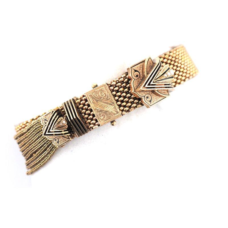 Antique, Estate & Consignment 10k Slide Bracelet