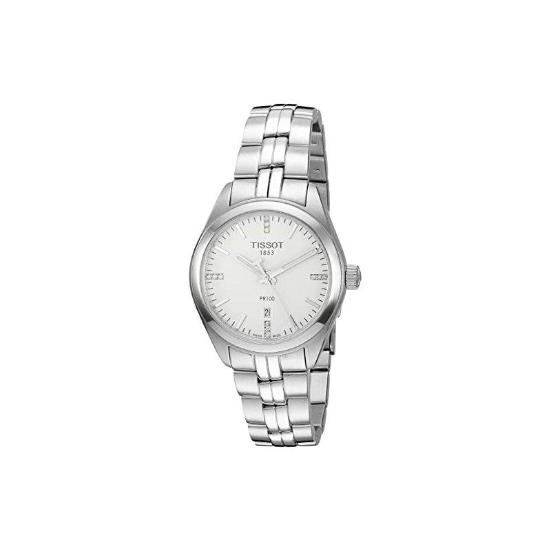 Tissot PR100 Diamond Dial Watch