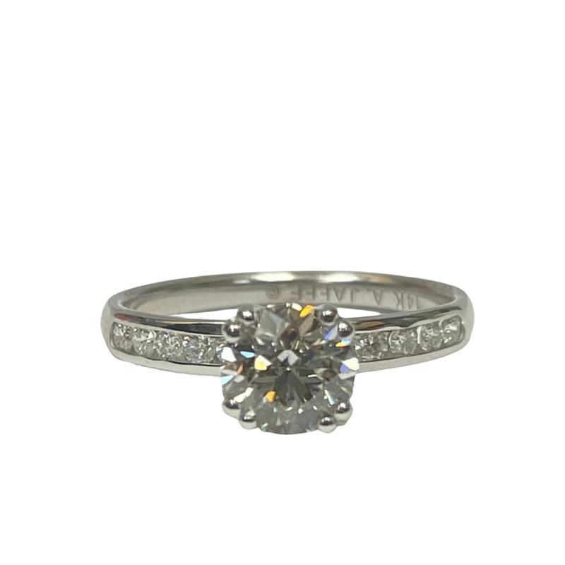 Antique, Estate & Consignment 0.97 Carat Diamond Engagement Ring