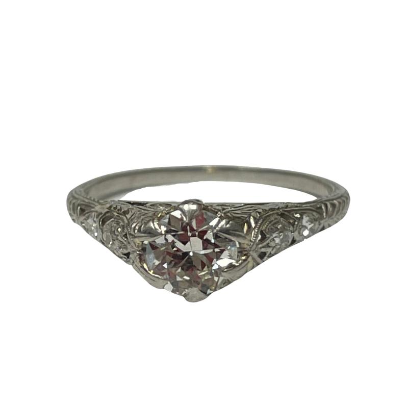 Antique, Estate & Consignment Platinum Filigree Ring