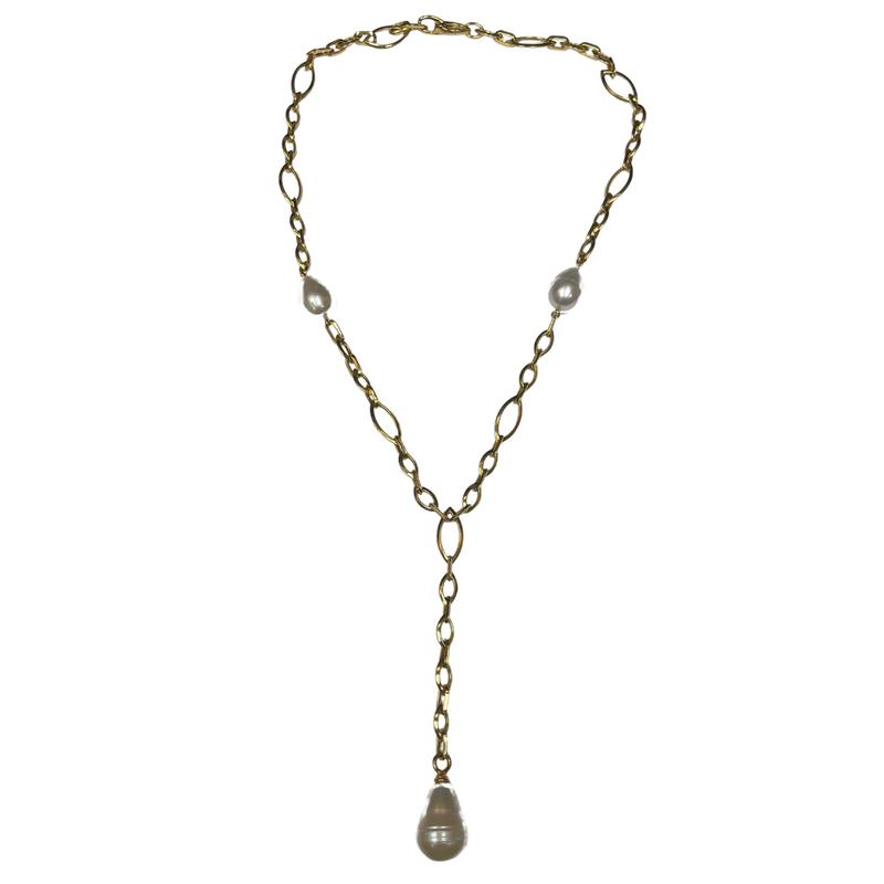 Antique, Estate & Consignment Pearl Y Necklace