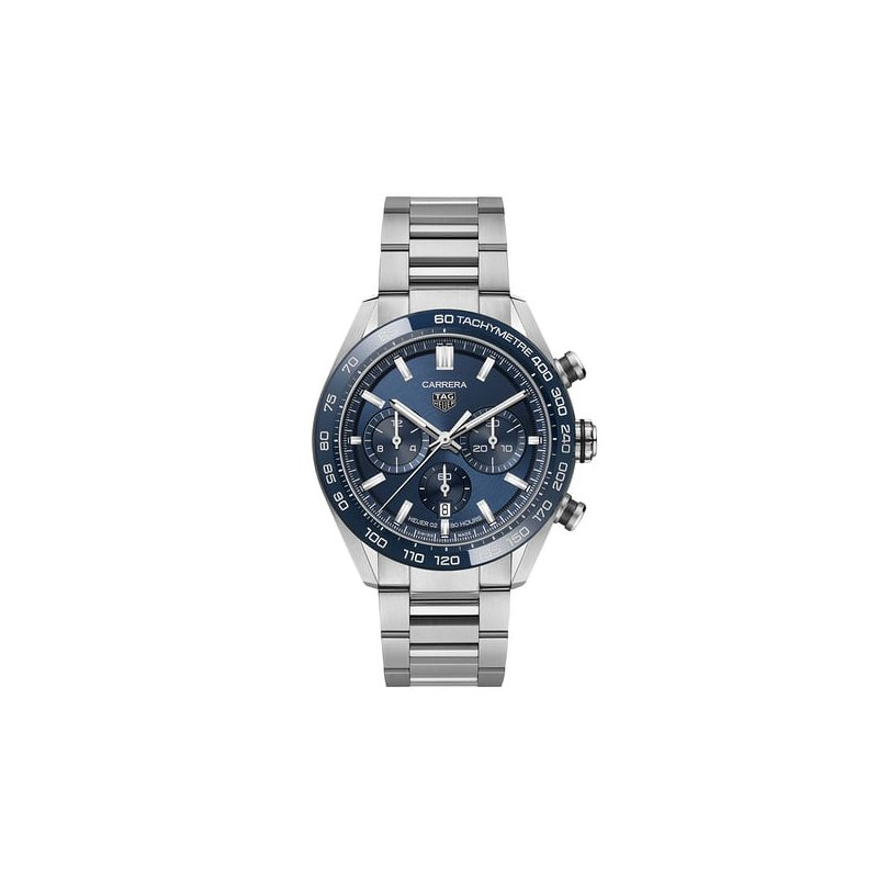 TAG Heuer Carrera 44mm - Blue Dial