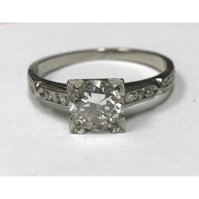 Antique, Estate & Consignment Old European Cut Diamond Ring