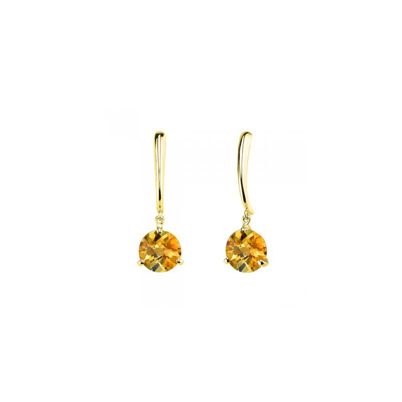 Stanton Color Citrine Dangle Earrings