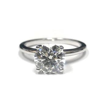 2.00 Carat Diamond Solitaire Engagement Ring