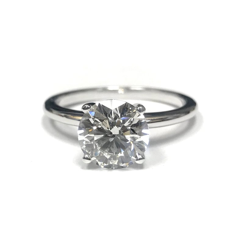 Hurdle's Jewelry Collection 2.00 Carat Diamond Solitaire Engagement Ring