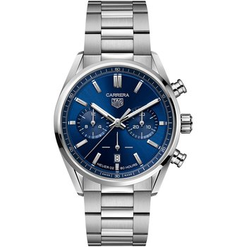 Carrera Heuer 02 Chronograph - Blue Dial