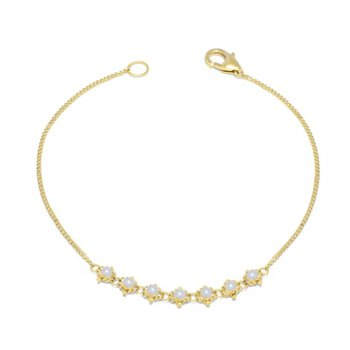 Pearl Textile Bracelet