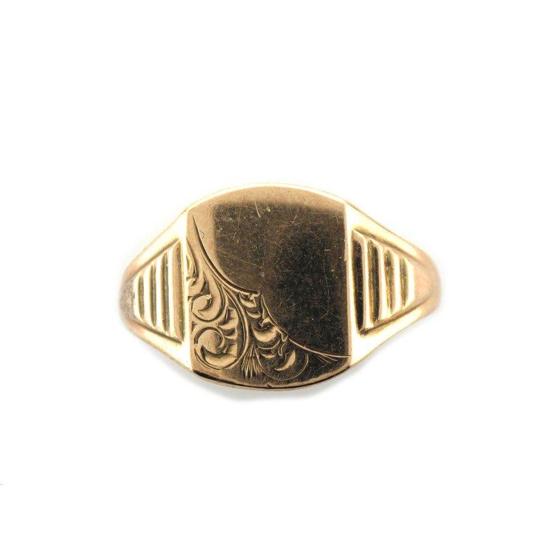 Antique, Estate & Consignment Gold Signet Ring