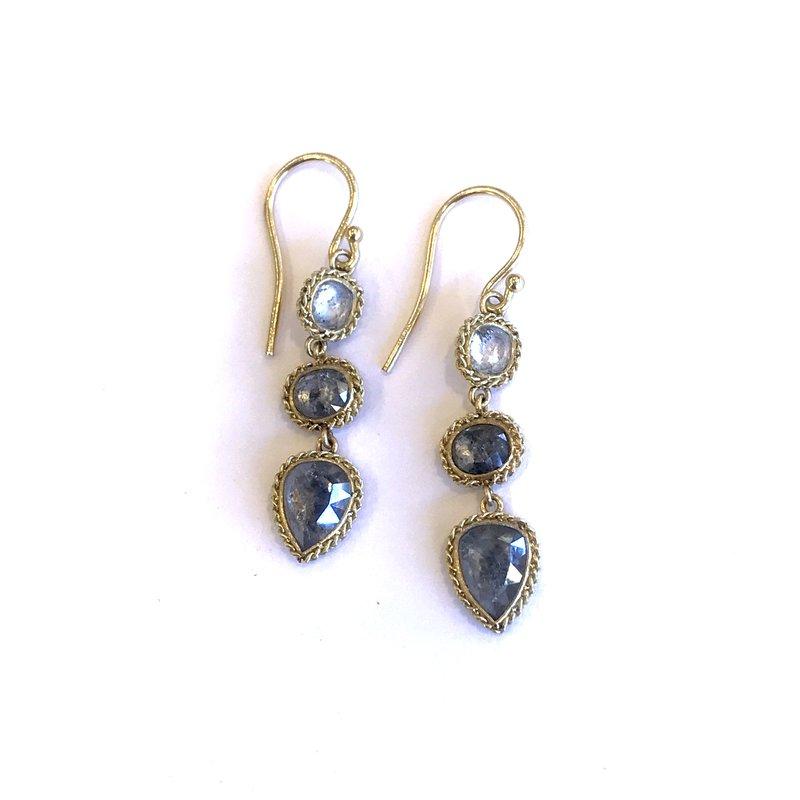 Amali Rose Cut Diamond Earrings