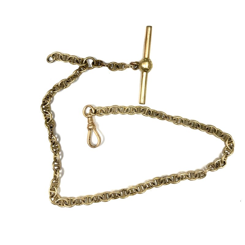 Antique, Estate & Consignment 14k Gold Pocket Watch Chain