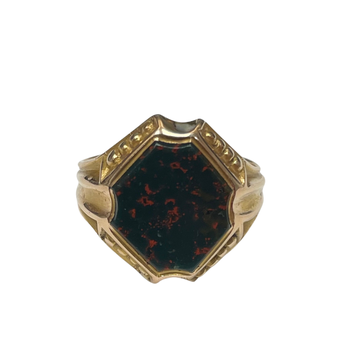 15k Bloodstone Ring