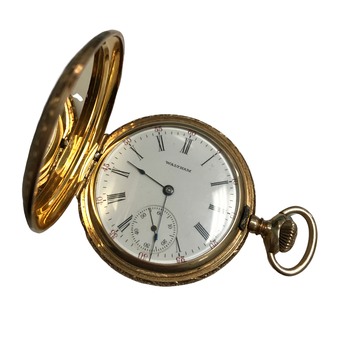 14k Waltham Pocket Watch