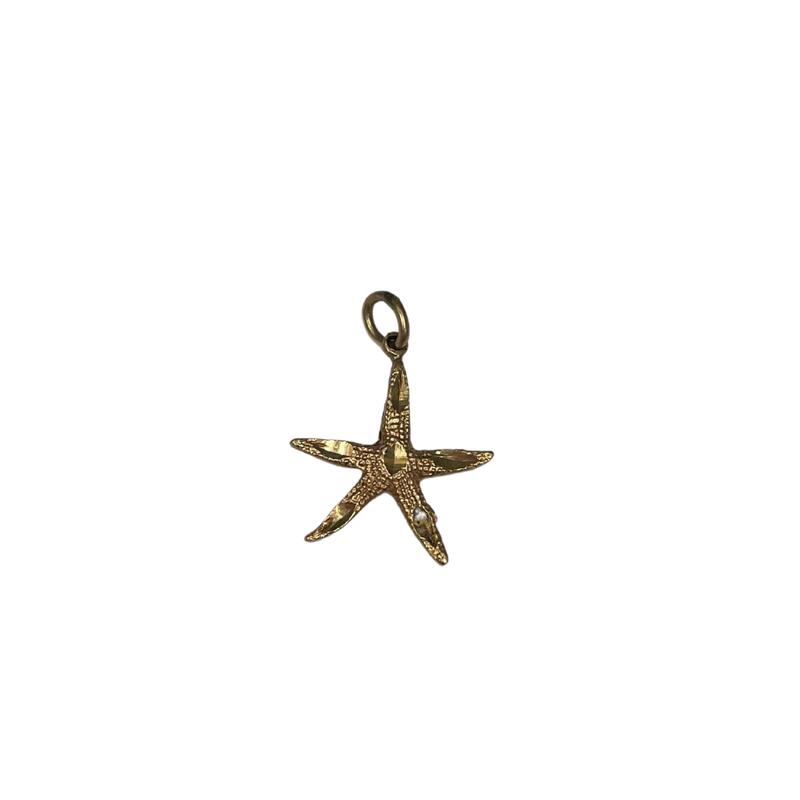 Antique, Estate & Consignment Gold Starfish Pendant