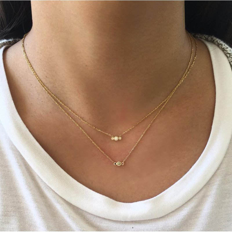 Jennie Kwon Diamond Journey Necklace