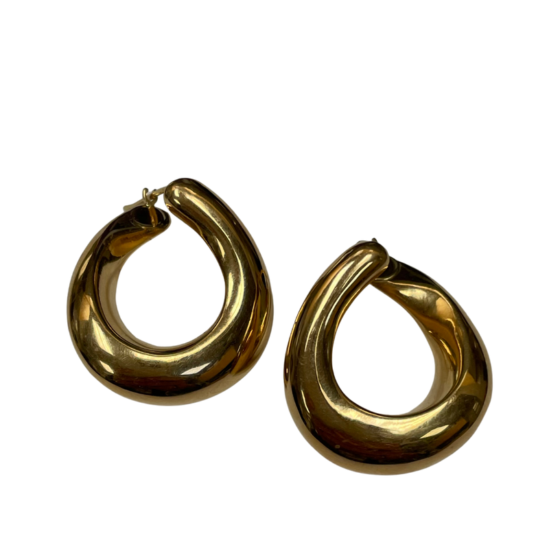 Antique, Estate & Consignment 14k Gold Hoop Earrings