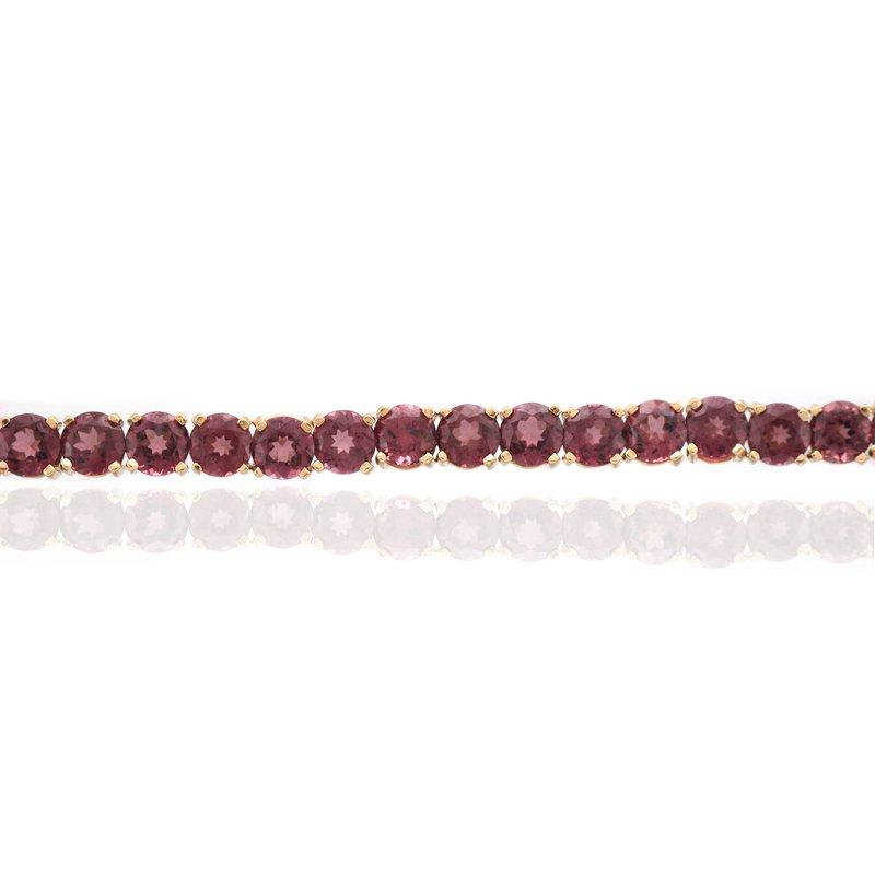 Antique, Estate & Consignment Rhodolite Garnet Bracelet