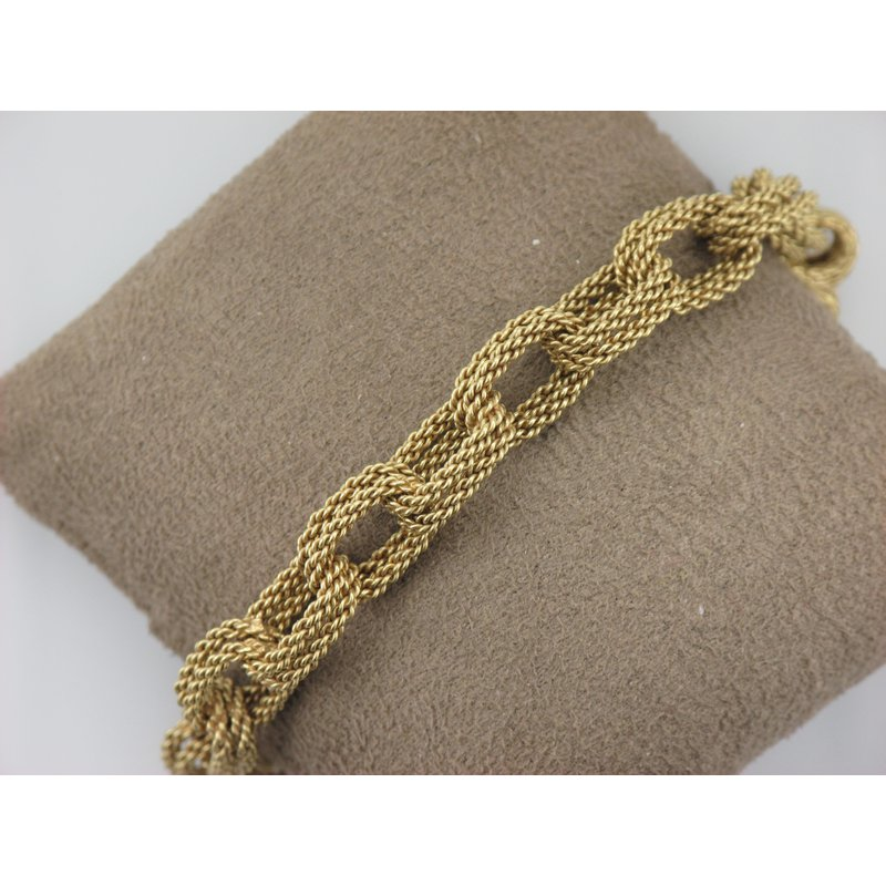 Antique, Estate & Consignment Gold Double Link Bracelet