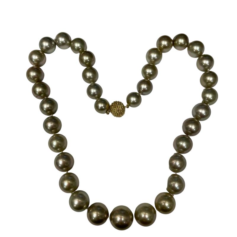 Antique, Estate & Consignment Gray Graduated Pearls