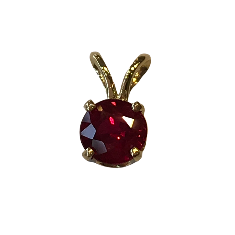 Hurdle's Jewelry Collection 0.65 Carat Ruby Pendant