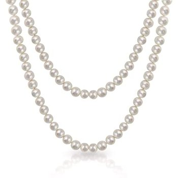 Rope Length Freshwater Pearl Strand