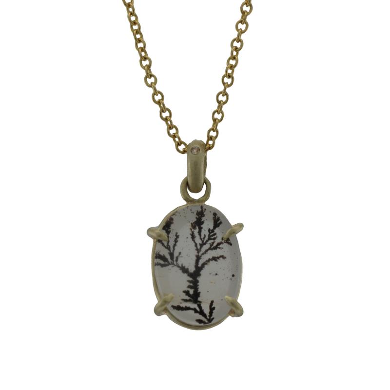 Judi Powers Dendritic Quartz Necklace